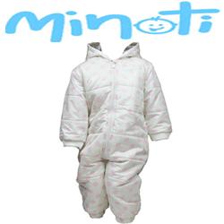 Combinezon de iarna pentru bebe Minoti, 6-12, 12-18, 18-24 luni