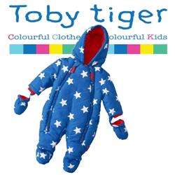 Salopeta de iarna pentru bebelusi Toby Tiger, 0-24 luni