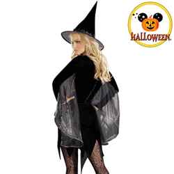 Costum bal mascat Vrajitoare Halloween