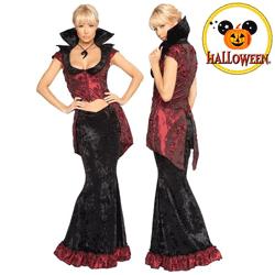 Costum Noaptea de Halloween Vampirita