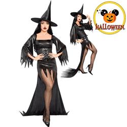 Costum complet dama Halloween Vrajitoare
