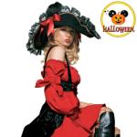 Costum Pirat bal mascat de Halloween