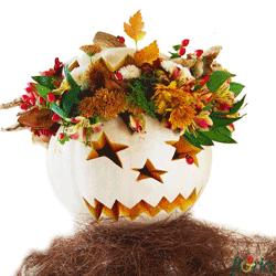 Buchet de flori cu tematica Halloween