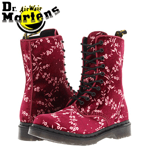 Ghete dama Dr Martens Avery 10 Eye Boot DLS
