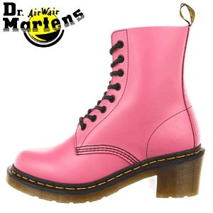Ghete Dr. Martens Clemency Soft Pink pentru femei