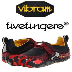 Incaltaminte cu degete: pantofii mersului si alergarii sanatoase. Vibram Five Fingers originali.
