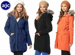 Jacheta de iarna AJC pentru fete si domnisoare cochete
