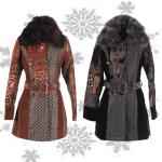 Paltoane elegante de iarna pentru femei in oferta de reduceri de pret a magazinelor online LaFemme TinaR Starshiners Zonia