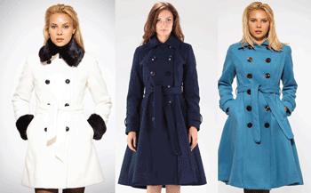 Paltoane din lana pentru femei Be You fabricate in Romania