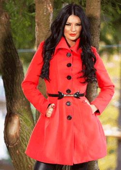 Palton de dama cambrat captusit Pinkish