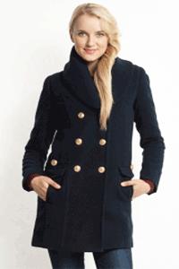 Palton de dama cambrat