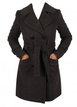 Palton de iarna din lana Ed La Femme in oferta de reduceri de pret