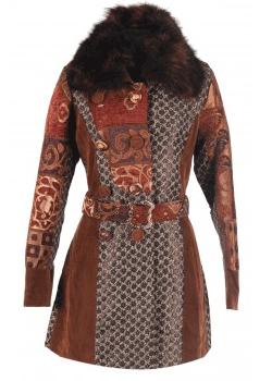 Palton elegant de iarna Desigual pentru femei