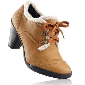 Pantofi Pumps cu blanita decorativa toamna iarna