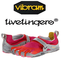 Pantofi Vibram Five Fingers Bikila Red