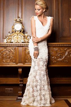 Rochie sirena Amazing Ivory