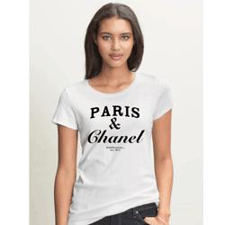 Tricouri pentru fete funny Paris & Chanel