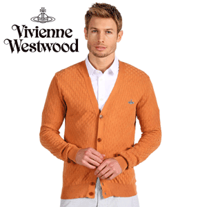 Cardigan barbati Vivienne Westwood Man Peach