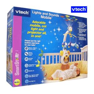 Carusel cu proiector VTech – porneste cand copilul plange