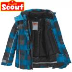 Geci si jachete de iarna si zapada pentru baieti cu protectie vant si inchidere cu scai