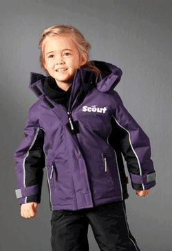 Gecuta de iarna pentru fetite Scout