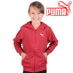 Hanorac Puma pentru fetite Romania Kids Hooded