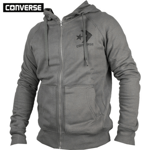 Hanorac barbati Converse Fleece Logo GRX