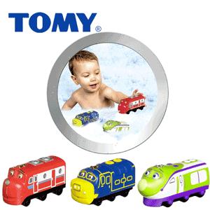 Jucarii pentru baita - Trenuletele Chuggington Tomy Toys
