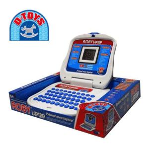 Laptop pentru copii D-Toys Roby - un laptop jucarie ieftin