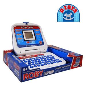 Laptop jucarie educationala pentru copii D-Toys Roby