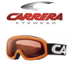 Ochelari de ski pentru copii Carrera Orange