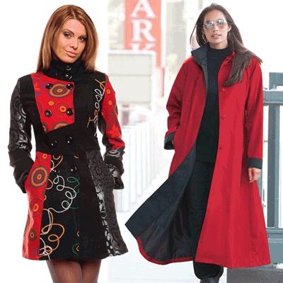 Gecute, jachete si pardesie de dama pentru o toamna si iarna colorata