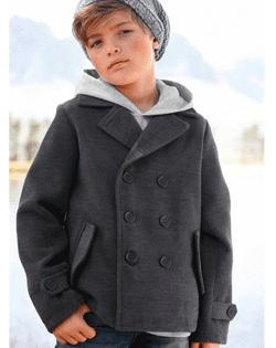 Palton cool pentru baieti - moda iarna