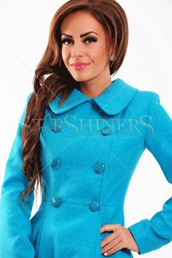Palton LaDonna Be Elegant Turqoise