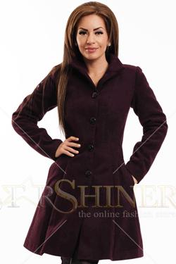 Palton LaDonna Clasic Look Purple