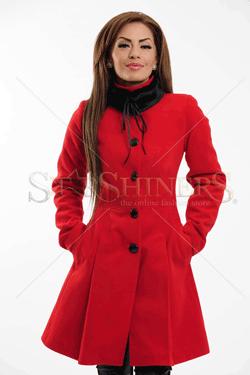 Palton LaDonna Clasic Look Red