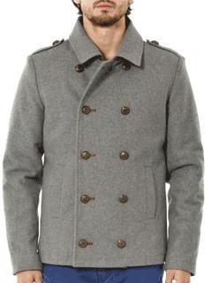 Palton scurt din lana