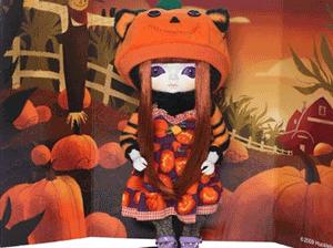 Papusi japoneze de colectie Toffee Pumpkin