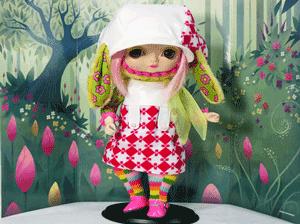 Papusi de colectie japoneze Toffee Pinky