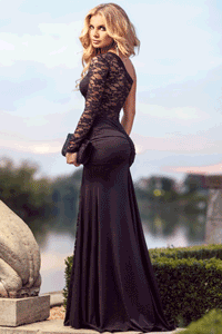 Rochie de seara foarte indrazneata