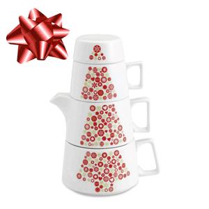 Set ceainic ceramica 3 piese