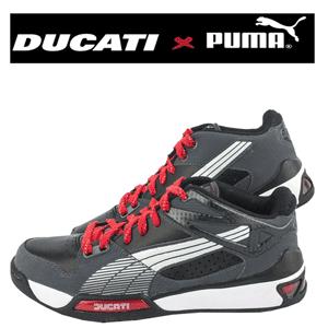 Adidasi barbati Puma Hypermoto Nubuck Low Ducati