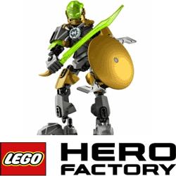 Lego Heroes - Figurine Eroi lego Rocka