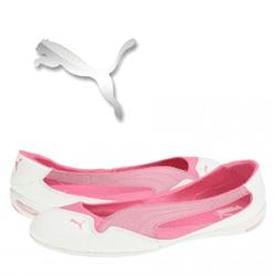 Balerini fetite Winning Cabaret alb cu roz
