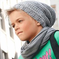 Caciula tricotata pentru copii Beenie