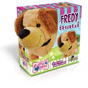 Jucarii Puffy Pets Noriel: Fredy catelusul dansator
