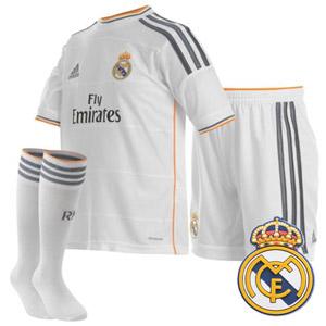 Echipament fotbal Real Madrid Fly Emirates