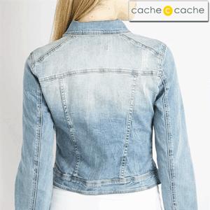 Jacheta jeans de dama, Cache Cache