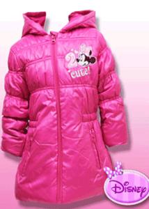 Geaca de iarna fetite Minnie Mouse, fetite de la 2 la 8 ani