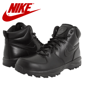 Ghete barbatesti din piele Nike Manoa Leather